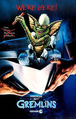 GREMLINS 11x17 mini movie poster collectible