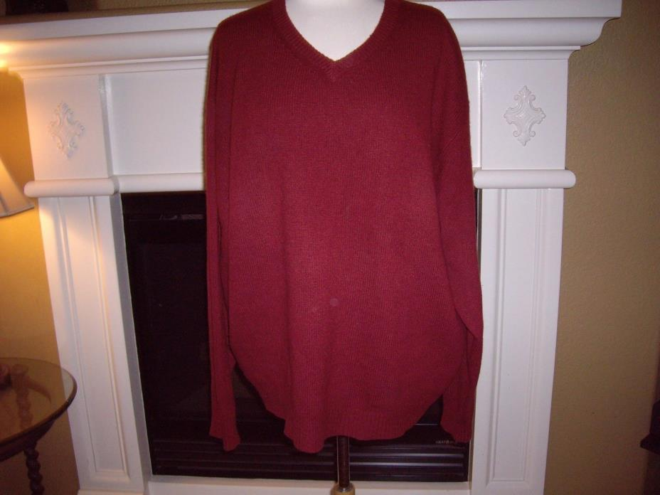 MEN'S MARMOT? CASHMERE SWEATER BURNT RED XL – Excellent gently used condition.