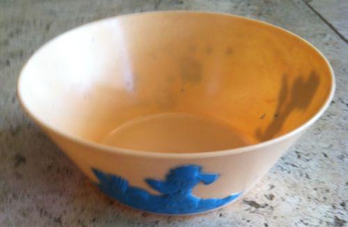 1961 F&F Plastic Huck Hound Premium Cereal Bowl