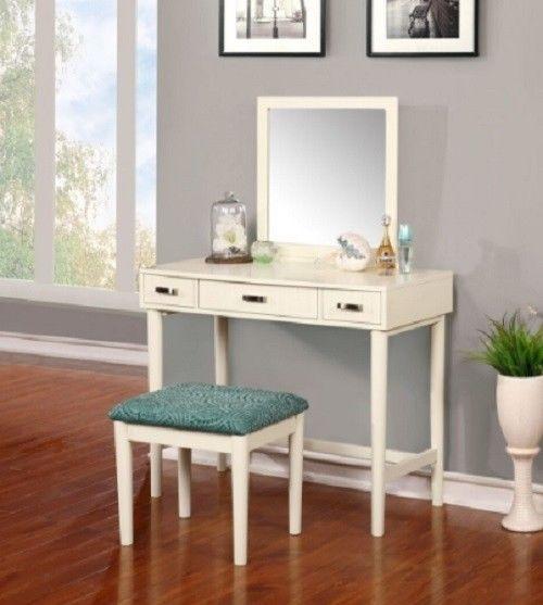 Linon Garbo Vanity w/ Bench
