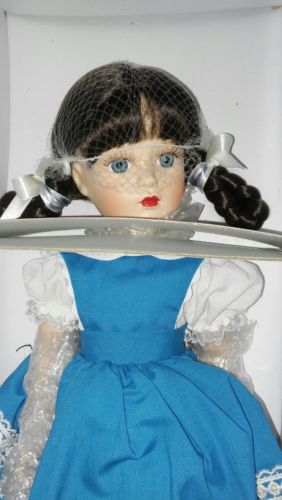 Madame Alexander Porcelain Margaret Ann doll 1999