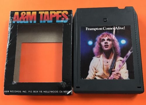 Frampton Comes Alive! 8 track tape tested