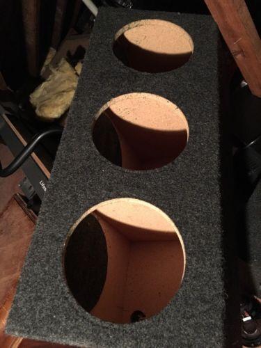 10 inch sealed 3 Hole Sub Box
