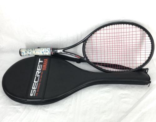 Yamaha Secret 06 Tennis Racquet Racket Carbon Kevlar L3 4 3/8 Grip With Bag