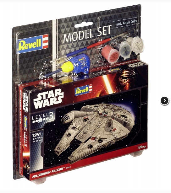 Revell Model Set Star Wars Millenium Falcon