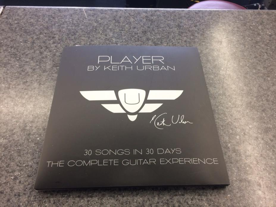 Player By Keith Urban 30 Songs in 30 Days The Complete Guitar Experience DVD Set