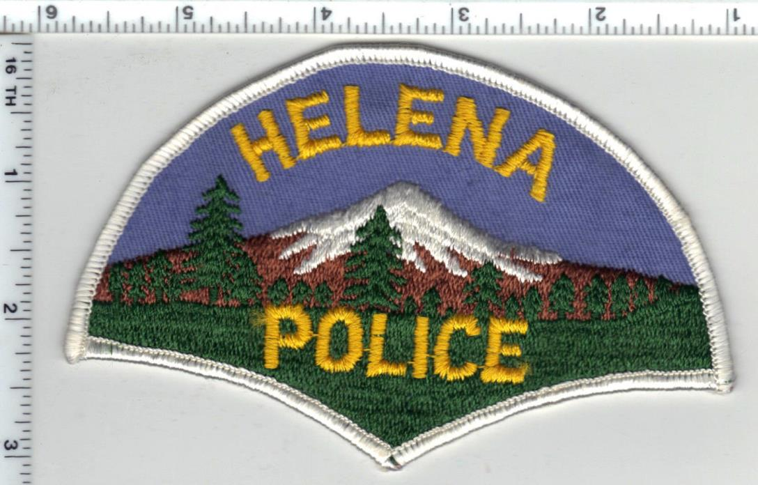 Helena Police (Montana) 1st Issue Shoulder Patch - new from the 1980's