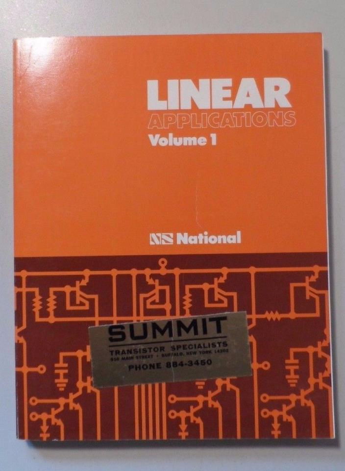 1973 National Semiconductor Digital Integrated Circuits Book
