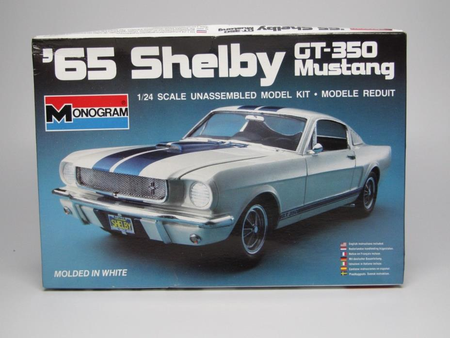 1965 Ford Mustang GT350  1/24 Scale Monogram #2700