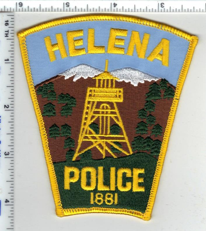 Helena Police (Montana) 4th Issue Shoulder Patch - new from the 1980's