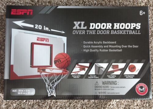ESPN XL Door Hoops Over The Door Basketball 20x13 inches