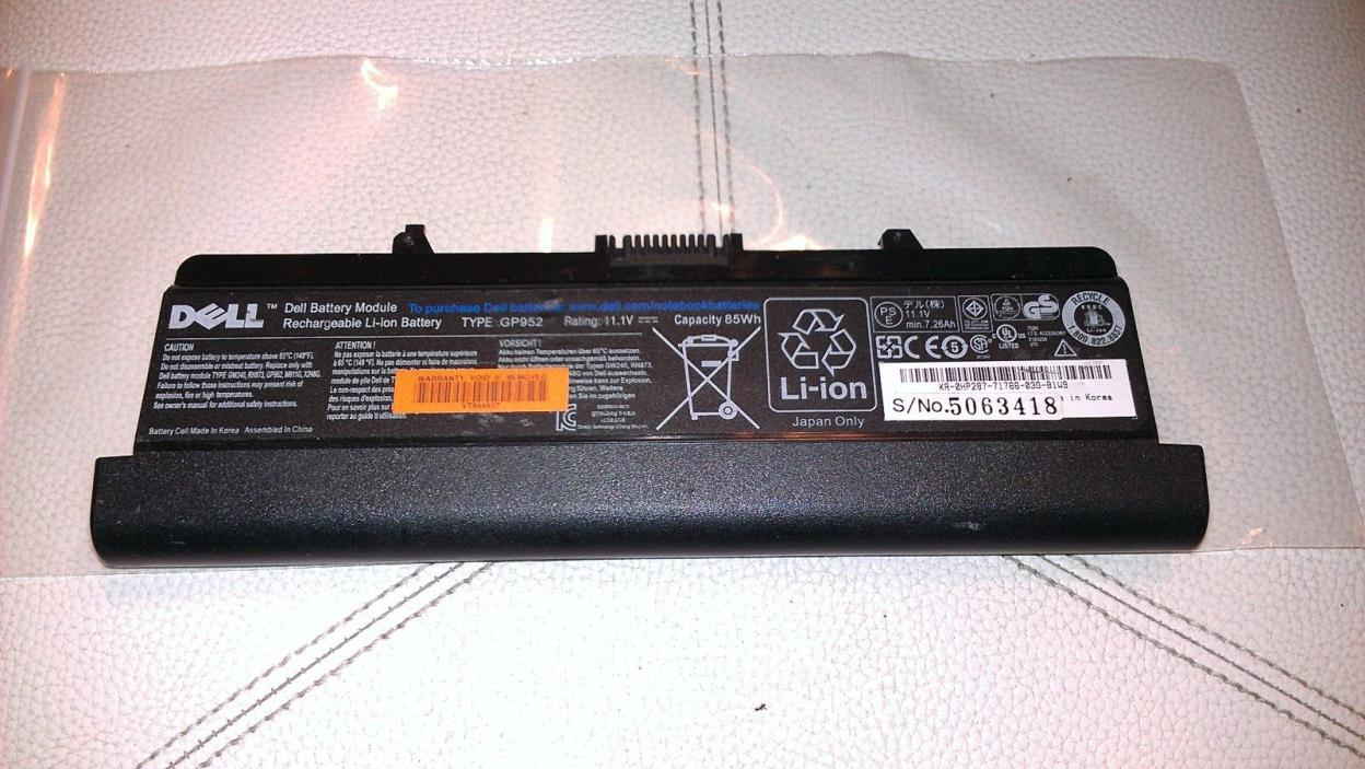 NEW Original  OEM Dell Battery Inspiron 1525 1526 1440 1545 1750  HP287 9cells