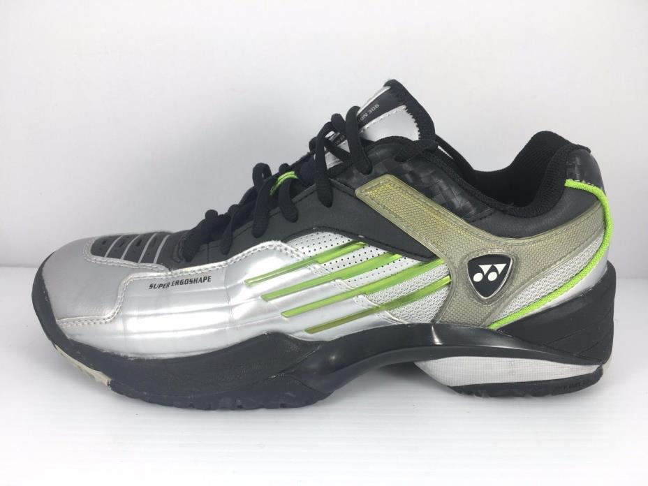 Left Shoe YONEX Power Cushion 306 Men 8.5 Women 10 Silver Badminton Tennis Shoes