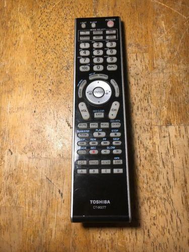 Toshiba CT-90277 TV Remote Control 42LX177 46LX177 52LX177 57LX177