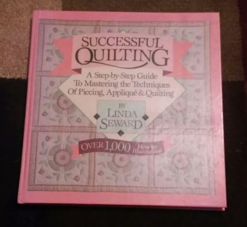 Successful Quilting,over 1,000 instructions Book & a few frosted vinyl templates