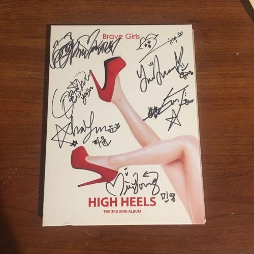 Brave Girls - High Heels (3rd Mini Album) SIGNED