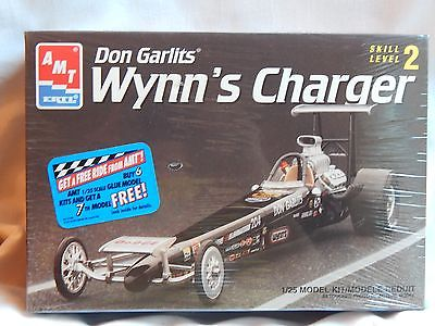 AMT Don Garlits Wynn's Charger Top Fuel Dragster Model Kit