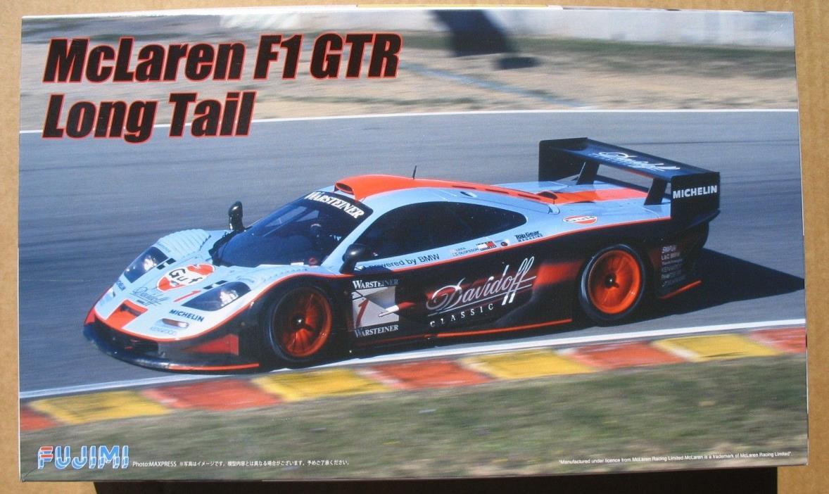 Fujimi 1/24 McLaren F1 GTR Long Tail Gulf Davidoff #1 1997 FIA GT Nice!
