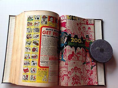 BOUND VOLUME OF DC COMICS BATMAN FLASH SPECTRE ADVENTURE ACTION TEEN TITANS Q
