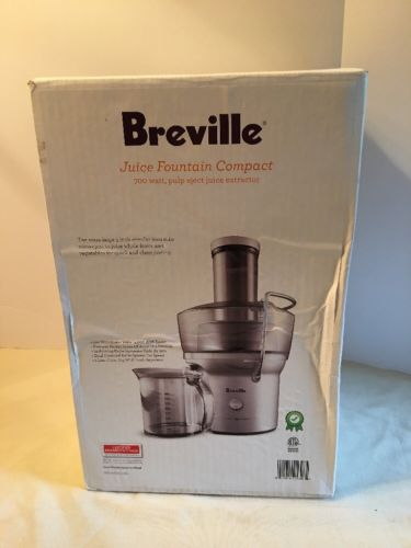 Sealed Breville Compact Juice Fountain EXTRACTOR JUICER BJE200XL 700 watt