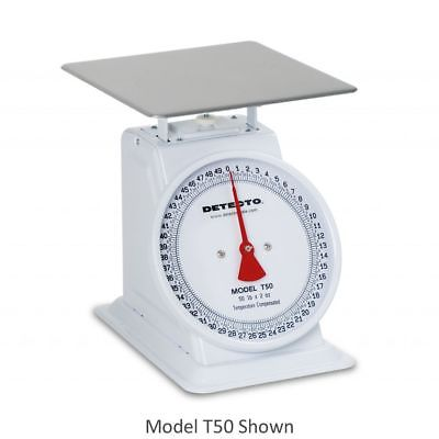 Detecto T10 Large Top Loading 10 Lb. Fixed Dial Scale