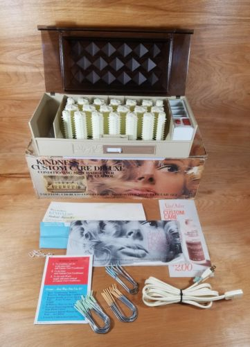 Vintage Clairol Kindness Custom Care Deluxe Hairsetter Hot Rollers Curlers K300