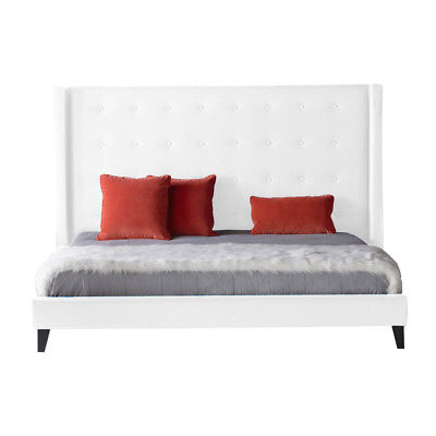 Star International Basix Rialto Queen Bed in White