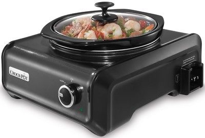Crock-Pot SCCPMD2-CH Hook Up Connectable Entertaining Slow Cooker