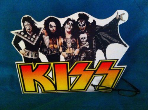 Kiss Standee/standup figure doll Gene Simmons poster vampire