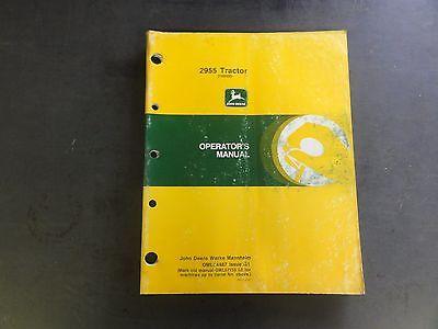 John Deere 2955 Operator's Manual  OML64487 Issue G1