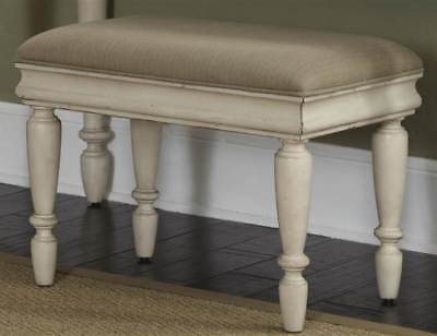 Vanity Bench in Rustic White [ID 3165912]