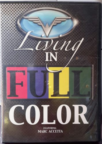 Living In Full Color Featuring Marc Accetta (2000) Used CD + DVD
