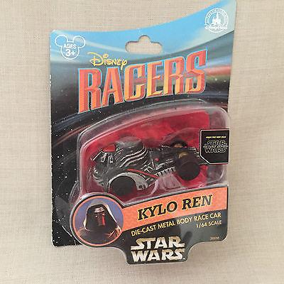Disney Racers Kylo Ren Die-Cast Metal Body Race Car New The Force Awakens