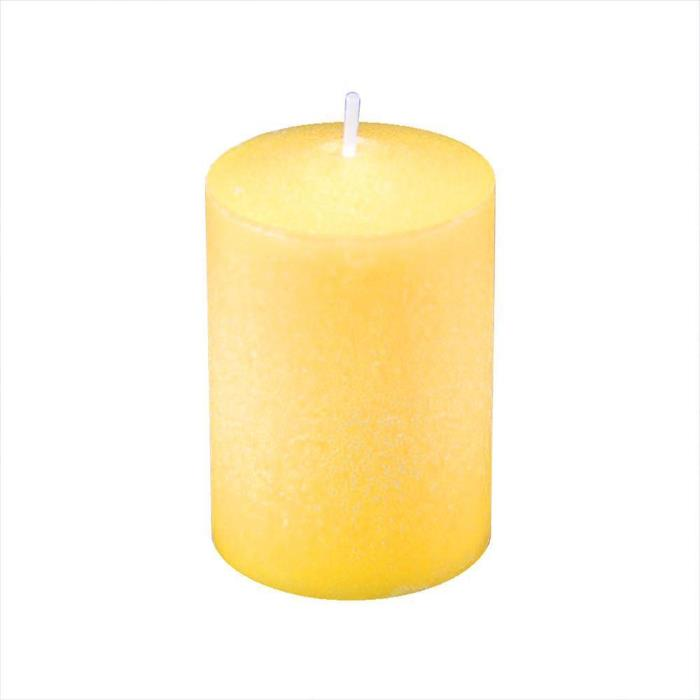 Lumabase Citronella Scented Standard Votive Candles Yellow Home Decoration New