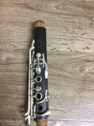 Noblet paris (N) wood Bb clarinet Upper Joint (stock#11041)