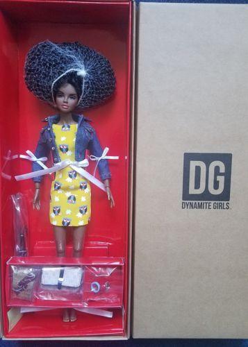 NRFB NATURAL BEAUTY TOOKA DYNAMITE GIRLS FASHION ROYALTY INTEGRITY Doll 12 INCH