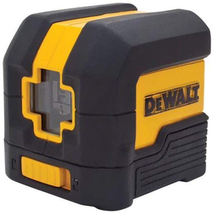 DEWALT 50 ft. Cross Line Laser Level DW08801