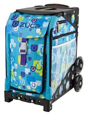 ZUCA Bag Be Zappy Insert & Black Frame w/ Non-Flashing Wheels