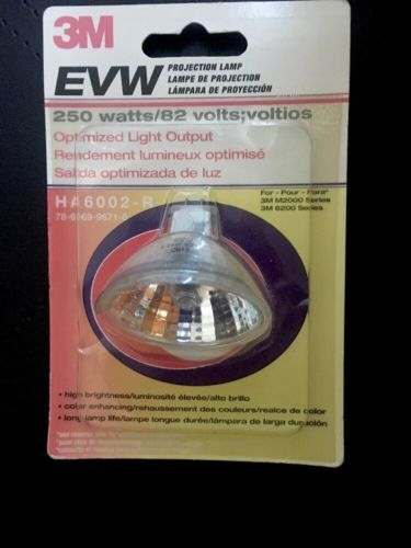 Visual 3M EVW Replacement Lamp - 250W Projector Lamp - 50 Hour