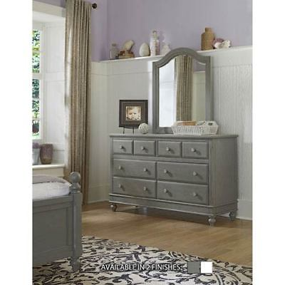 NE Kids Lake House Stone 8 Drawer Dresser with Mirror - 2500NDM