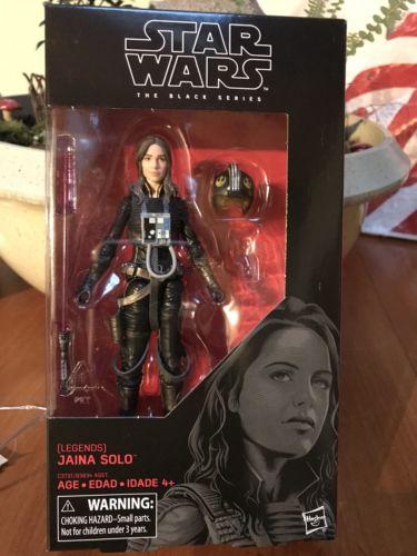 Star Wars JAINA SOLO The Last Jedi Black Series Wave 14 MIB #56