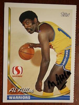Golden State Warriors legend Al Attles signed/autograph 1993 Topps baseball card