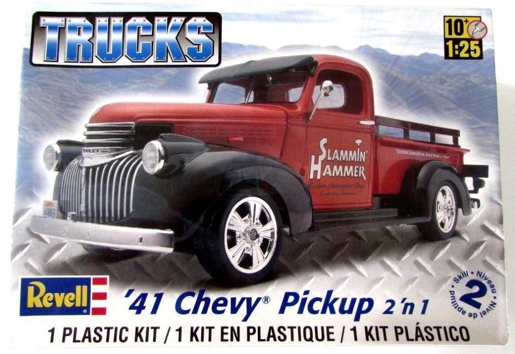 1941 Chevy Pickup Revell 85-7202 1/25 New Truck Plastic Model Kit