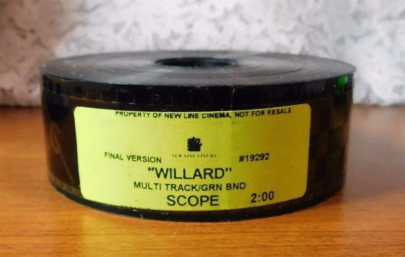 Willard 35mm Film Movie Trailer