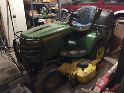 2015 John Deere X754 Riding Mowers