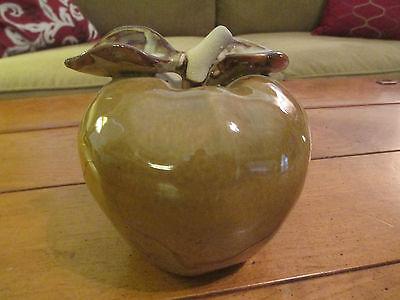 Large Decorative Ceramic Country Apple / Teachers Apple (5