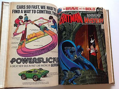 BOUND VOLUME DC COMICS BRAVE AND BOLD 93 BATMAN FROM BEYOND THE UNKNOWN GG