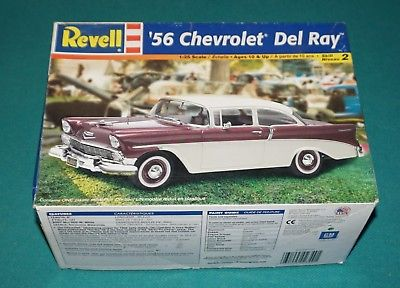 '56 Chevrolet Del Ray Revell 1/25 Complete & Unstarted.