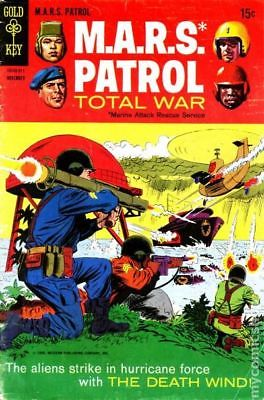 Mars Patrol Total War #7 1968 VG+ 4.5 Stock Image Low Grade