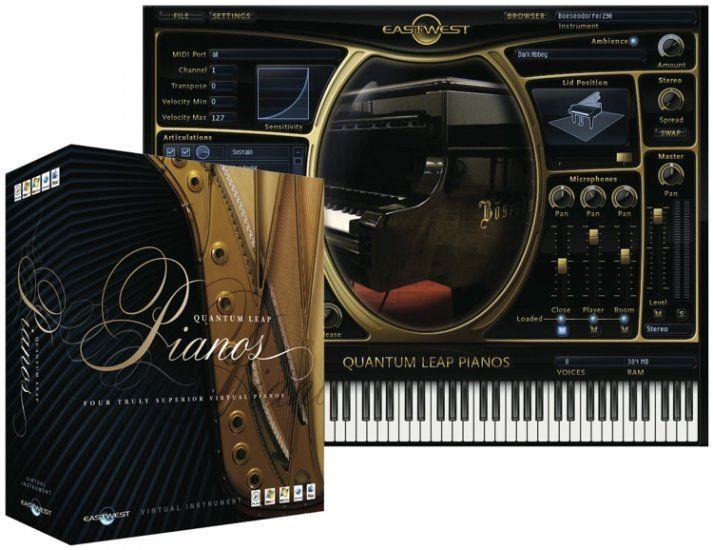 EastWest Quantum Leap Pianos Gold Mac PC Instrument